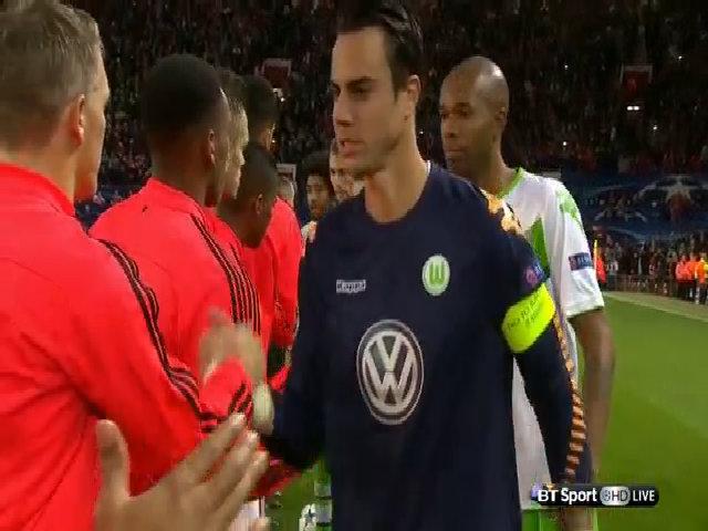 Manchester United 2-1 Wolfsburg