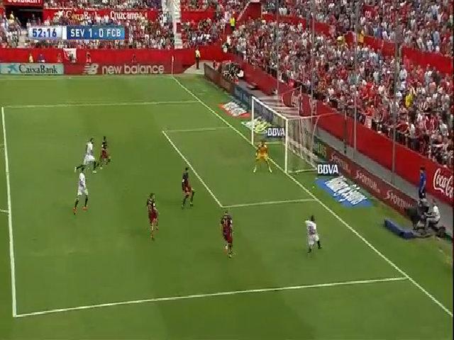 Sevilla 2-1 Barcelona
