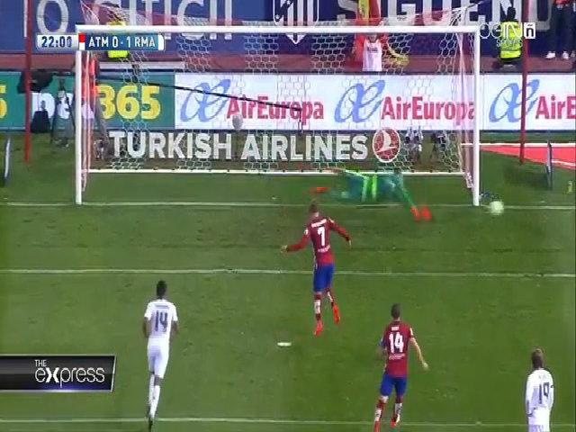Atletico Madrid1-1 Real Madrid