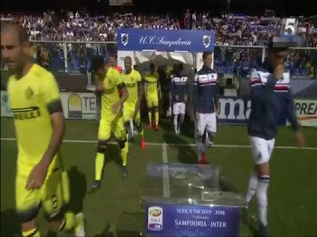 Sampdoria 1-1 Inter Milan