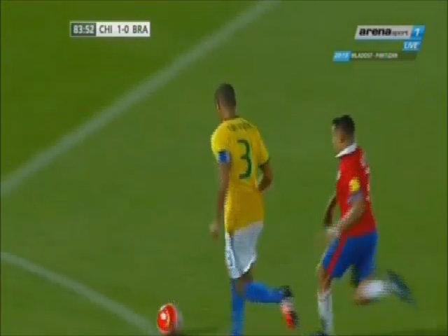Chile 2-0 Brazil
