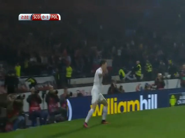 Scotland 2-2 Ba Lan