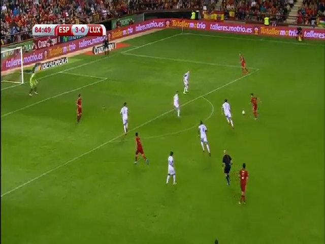 Tây Ban Nha 4-0 Luxembourg