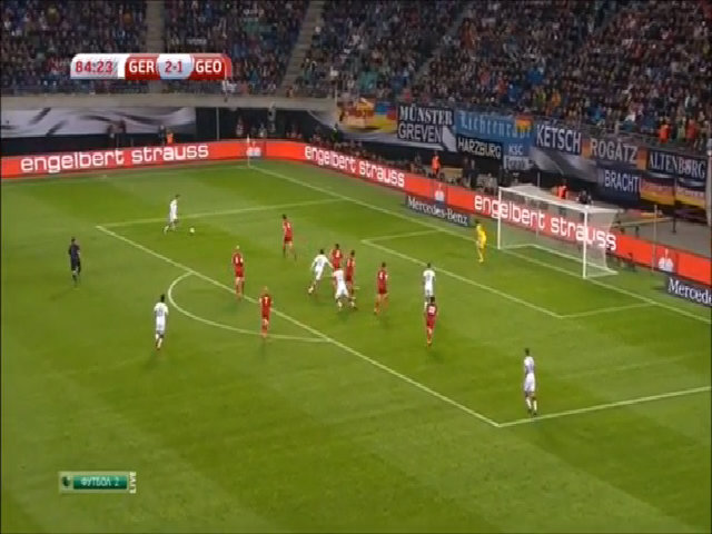 Đức 2-1 Georgia
