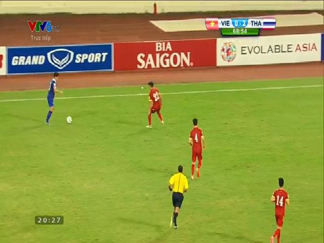 Thái Lan nâng tỷ số lên 3-0