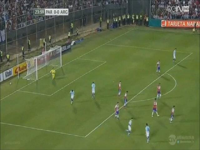 Paraguay 0-0 Argentina