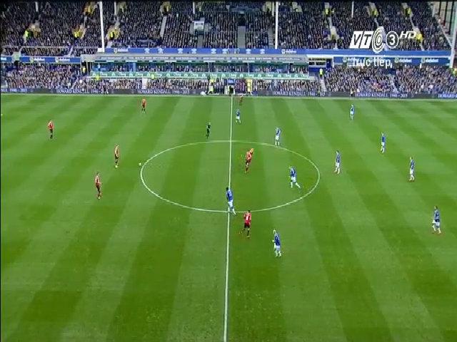 Everton 0-3 Man Utd