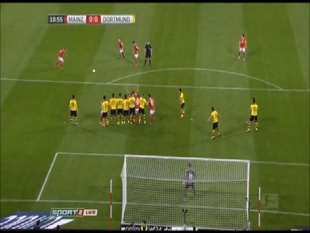 Mainz 05 0-2 Borussia Dortmund