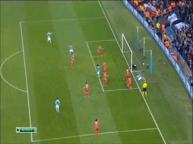Manchester City 2-1 Sevilla