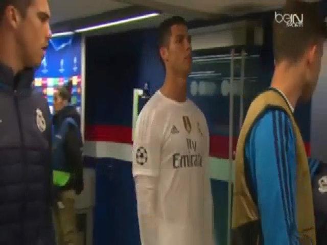 Ronaldo nổi giận khi bị gọi thử doping sau trận PSG - Real