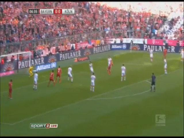 Bayern Munich 4-0 Cologne