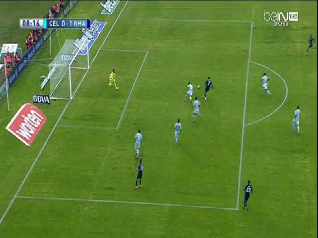 Celta Vigo 1-3 Real Madrid