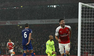 Arsenal 2-1 Everton