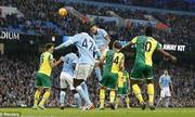 Manchester City 2-1 Norwich City