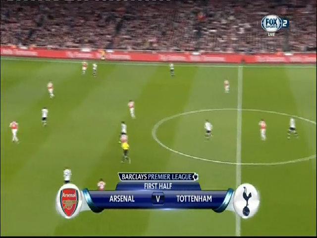 Arsenal 1-1 Tottenham