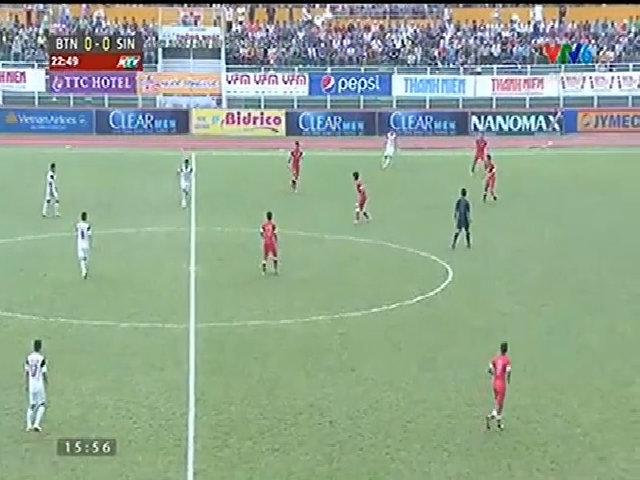 U21 Việt Nam 1-1 U21 Singapore