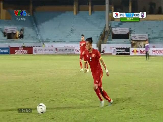 U23 Việt Nam 2-2 Cerezo Osaka