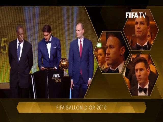 Messi giành Quả bóng vàng FIFA
