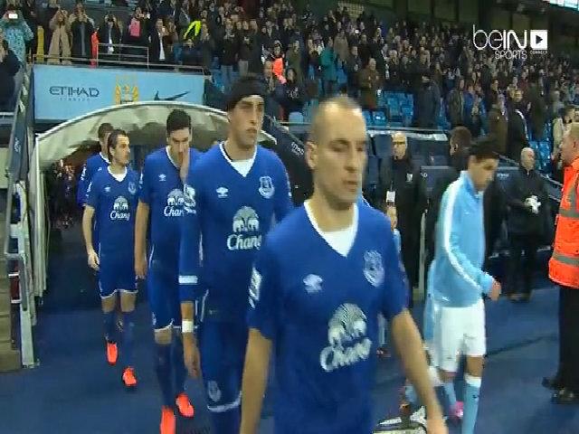 Manchester City 0-0 Everton