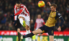 Stoke City 0-0 Arsenal