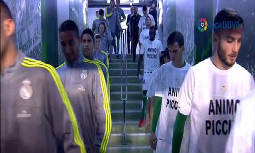Real Betis 1-1 Real Madrid