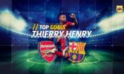 Top 5 pha ghi bàn của Thierry Henry cho Barca
