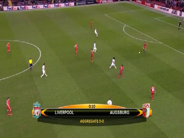 Liverpool 1-0 Augsburg