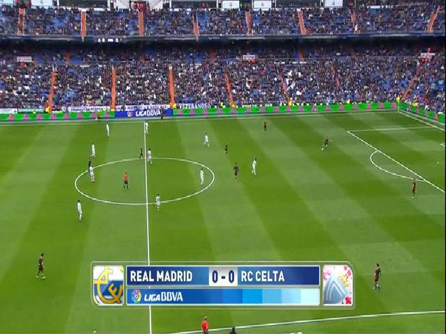 Real Madrid 7-1 Celta Vigo