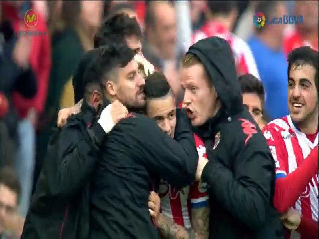 Sporting Gijon 2-1 Atlético de Madrid