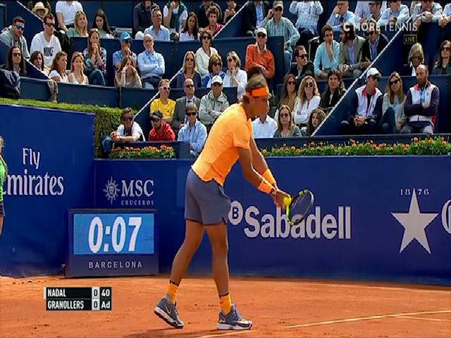 Rafael Nadal 2-0 Marcel Granollers