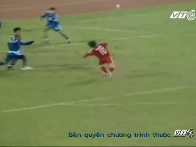 Ba bàn thắng để đời của Văn Quyến ở SEA Games 22