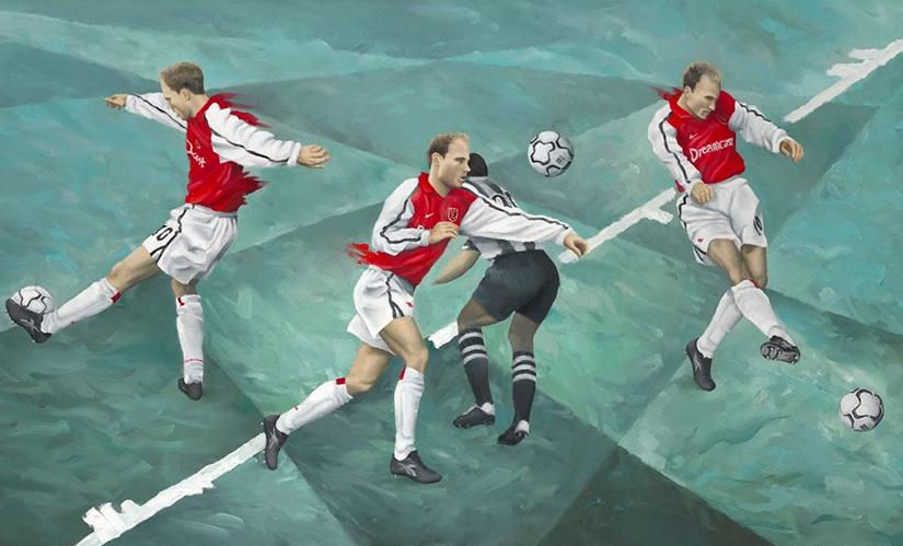 Bergkamp trình diễn tuyệt phẩm ghi bàn vào lưới Newcastle