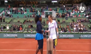 Serena Williams 2-0 Magdalena Rybarikova