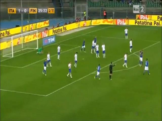 Italia 2-0 Phần Lan