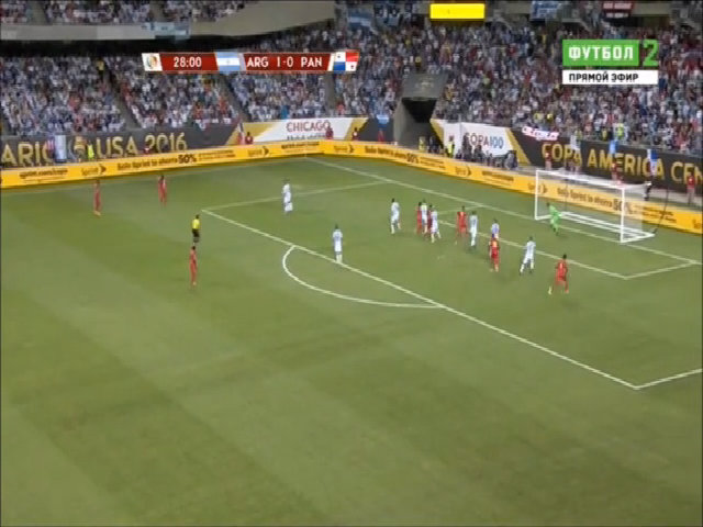 Argentina 5-0 Panama