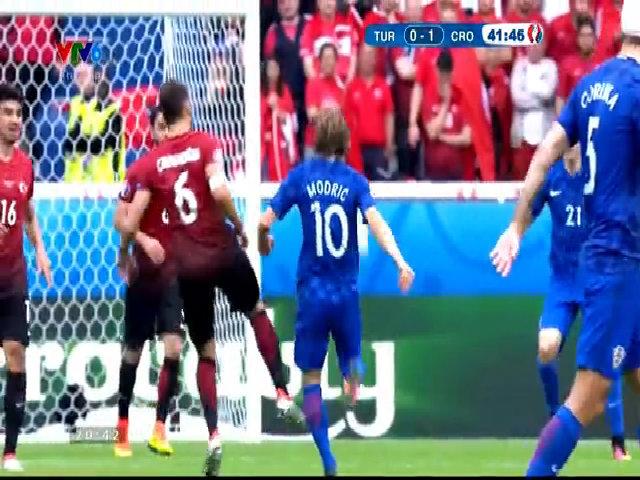 Thổ Nhĩ Kỳ 0-1 Croatia