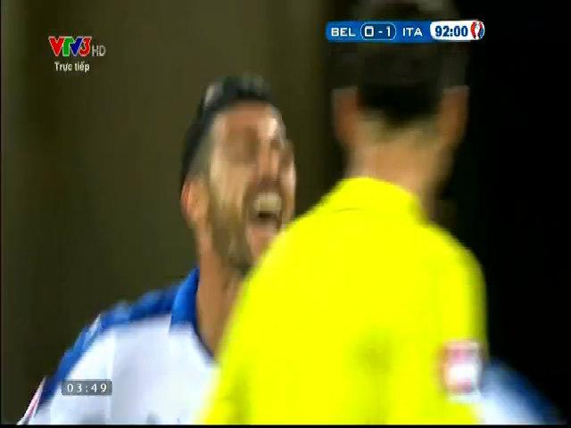 Bỉ 0-2 Italia