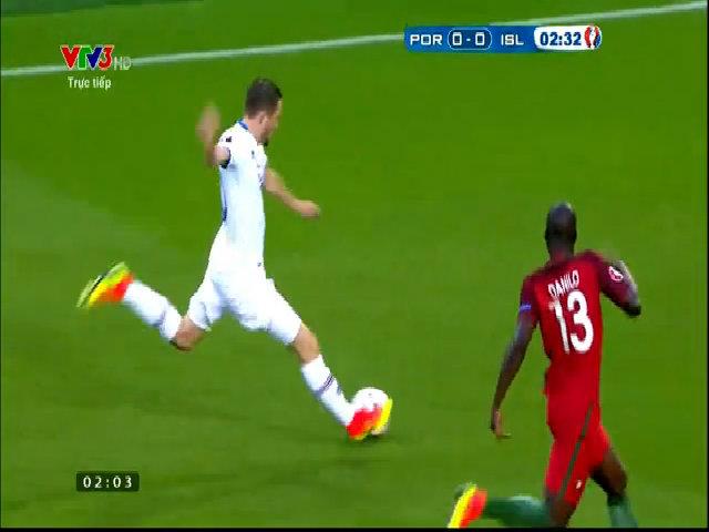 Bồ Đào Nha 1-1 Iceland