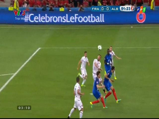 Pháp 2-0 Albania