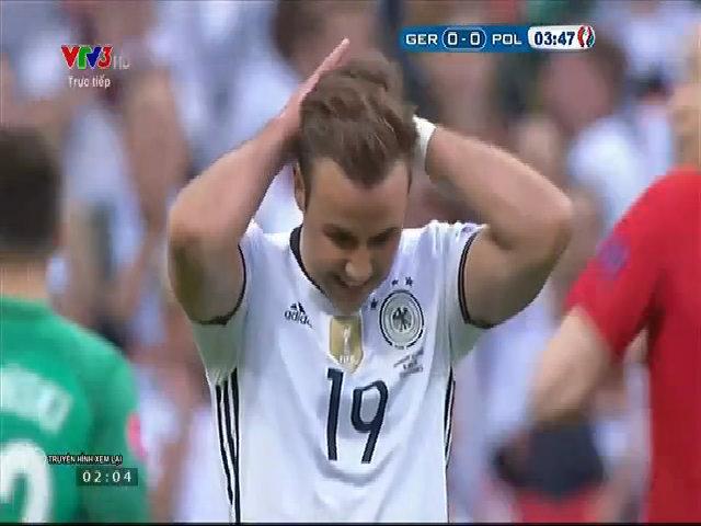Đức 0-0 Ba Lan