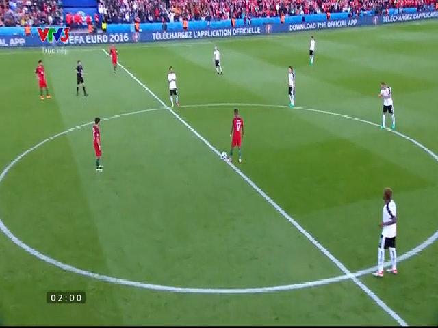 Bồ Đào Nha 0-0 Áo