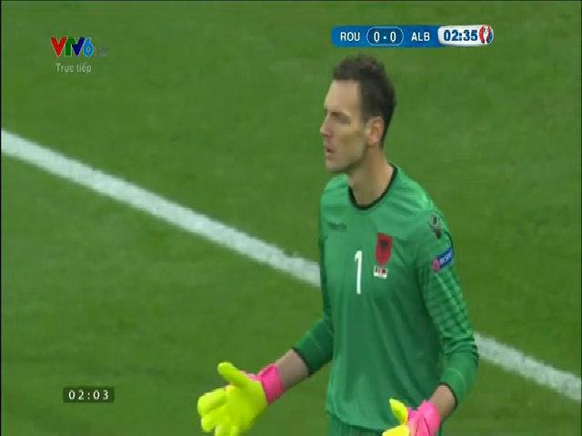 Romania 0-1 Albania