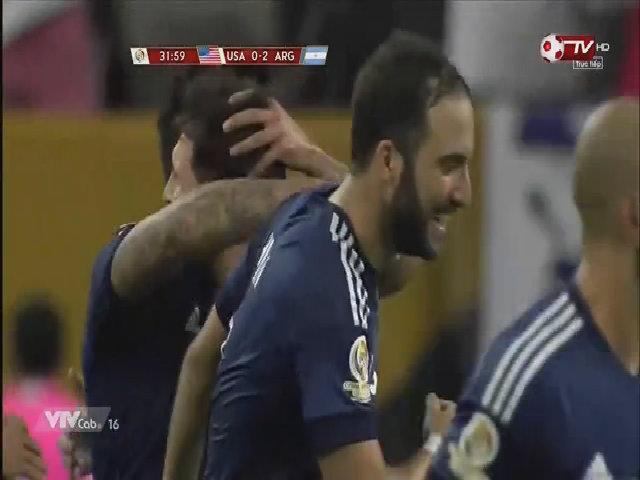 Messi nâng tỉ số lên 2-0