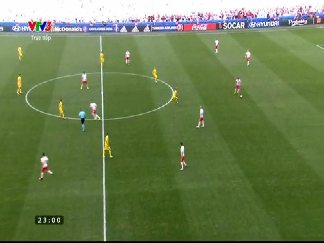 Ukraine 0-1 Ba Lan