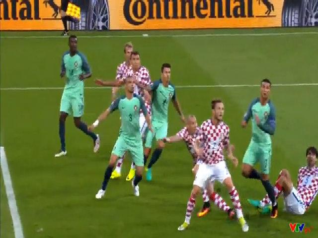 Croatia 0-1 Bồ Đào Nha