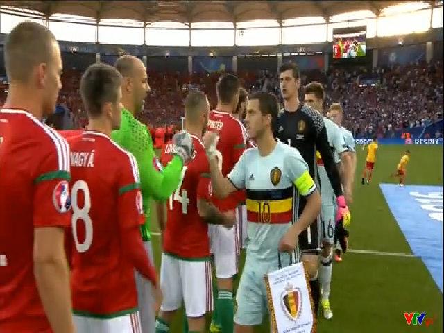 Hungary 0-4 Bỉ
