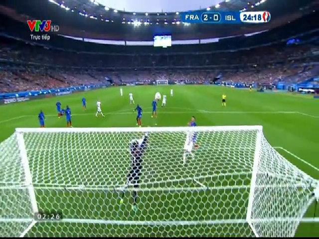 Pháp 5-2 Iceland
