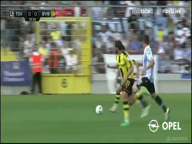 1860 Muenchen 1-0 Borussia Dortmund