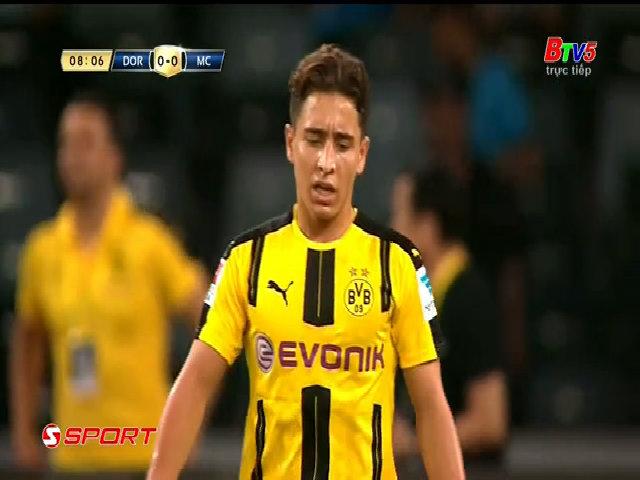 Borussia Dortmund 1-1 Manchester City (pen 5-6)