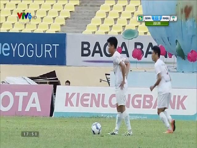 Sông Lam Nghệ An 1-0 Hoàng Anh Gia Lai